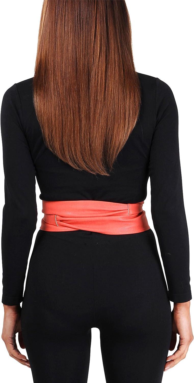 KRISP/® Women Obi Waist Belt Elastic Band One Size Fits All
