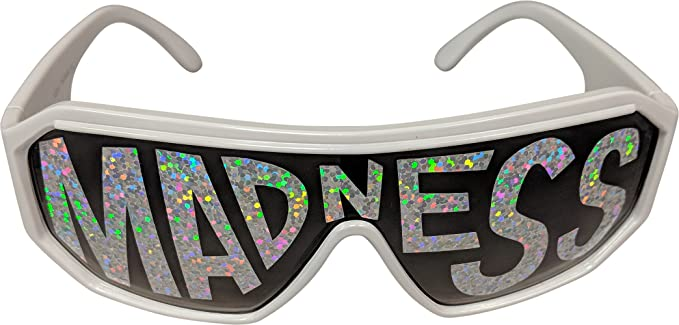 b0f474f3c5 Macho Man Randy Savage Shark Tooth Black See Through Party Sunglasses
