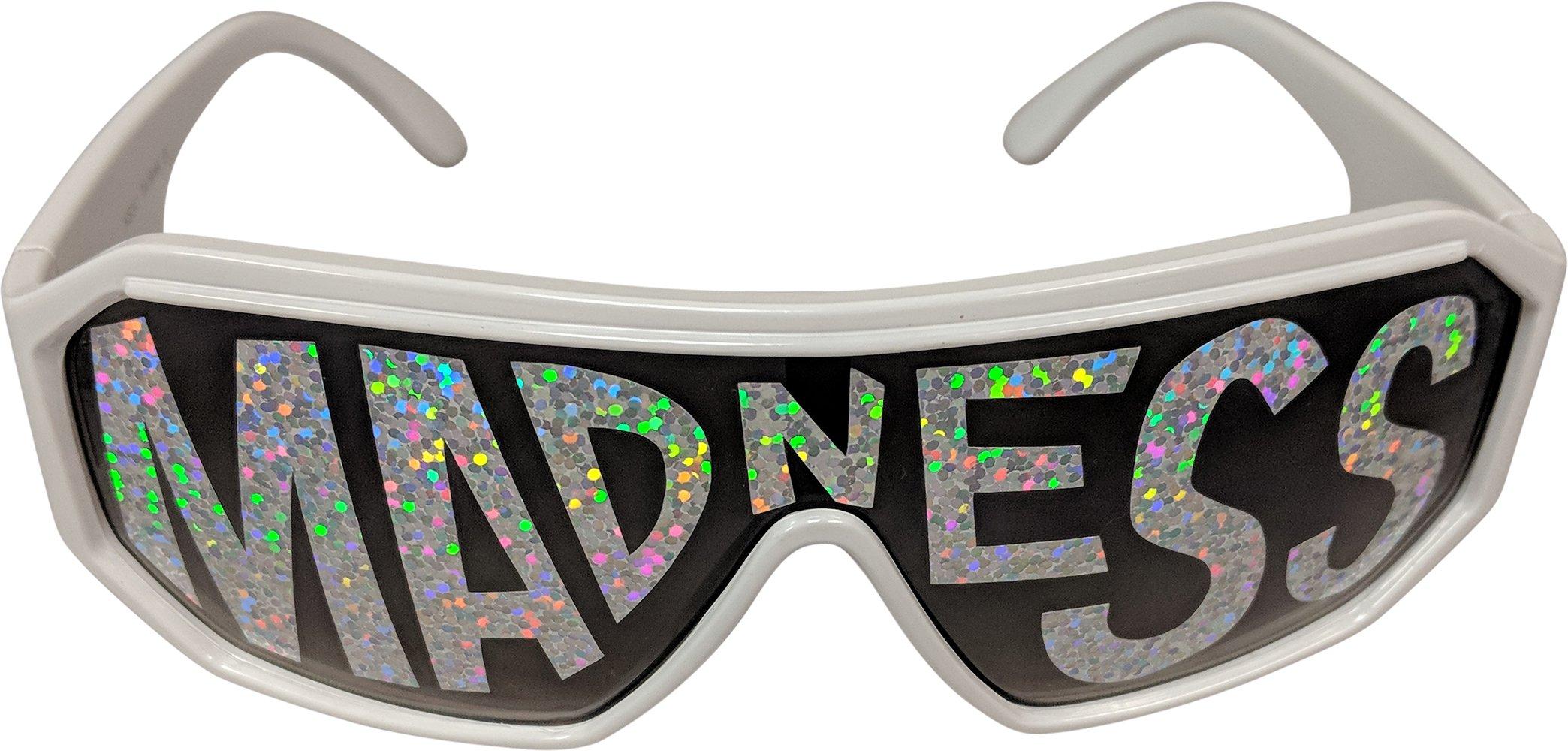 Macho Man Randy Savage Madness White See Through Party Sunglasses by Macho Man