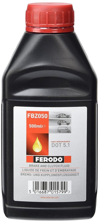 Ferodo FBZ050 24 BRAKE 5 (DOT5) DOT 5.1. FEDERAL MOGUL
