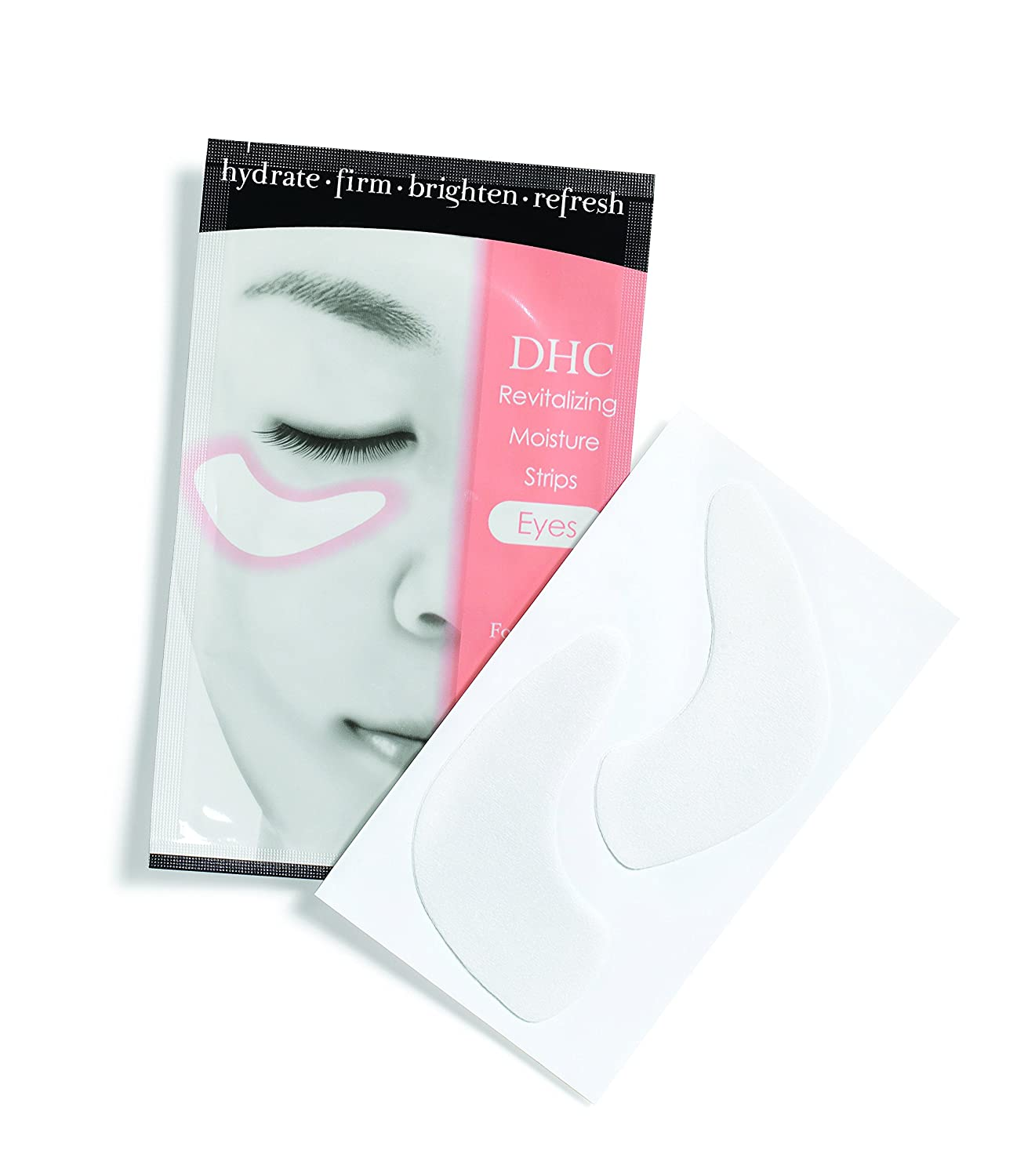 DHC Revive Tired Eyes, includes DHC Revitalizing Moisture Strips Eyes, 6 applications and DHC Eye Bright, 0.52 oz.