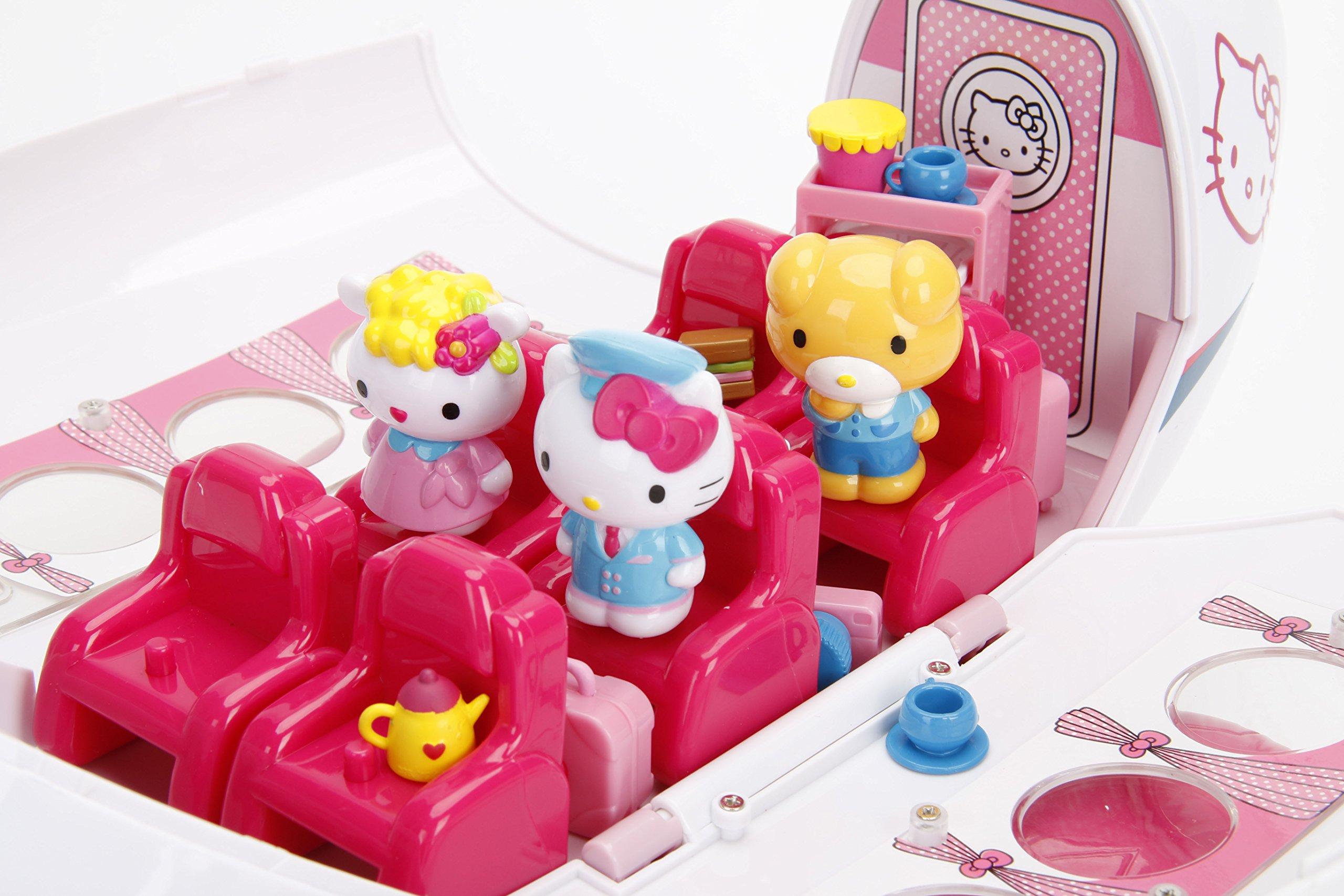 Jada Toys Hello Kitty Jet Plane Play Set On Galleon