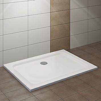 Hervorragend VILSTEIN Duschwanne 90 x 120 x 5 cm, sehr Flach, Duschtasse mit CC95