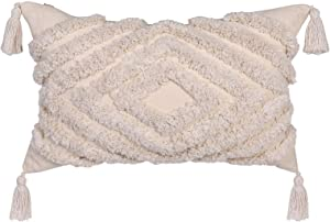 LOVINSUNSHINE Boho Pillow Case Cover 20 X 12 Decorative Boho Decorations Living Room Bohemian Decor for Bedroom Boho Decor Couch Boho Design Decor Boho Tassel Pillow Covers Boho Pillow Cover 12X20 -