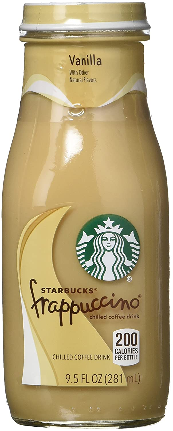 Starbucks Frappuccino, Mocha Light and Vanilla Light Flavors Variety Pack, 9.5 Ounce Glass Bottles, 15 Count Pepsi Bev SYNCHKG116458