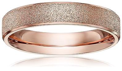 Amazoncom LOVE Beauties Brand New 4mm Womens Titanium Rose Gold