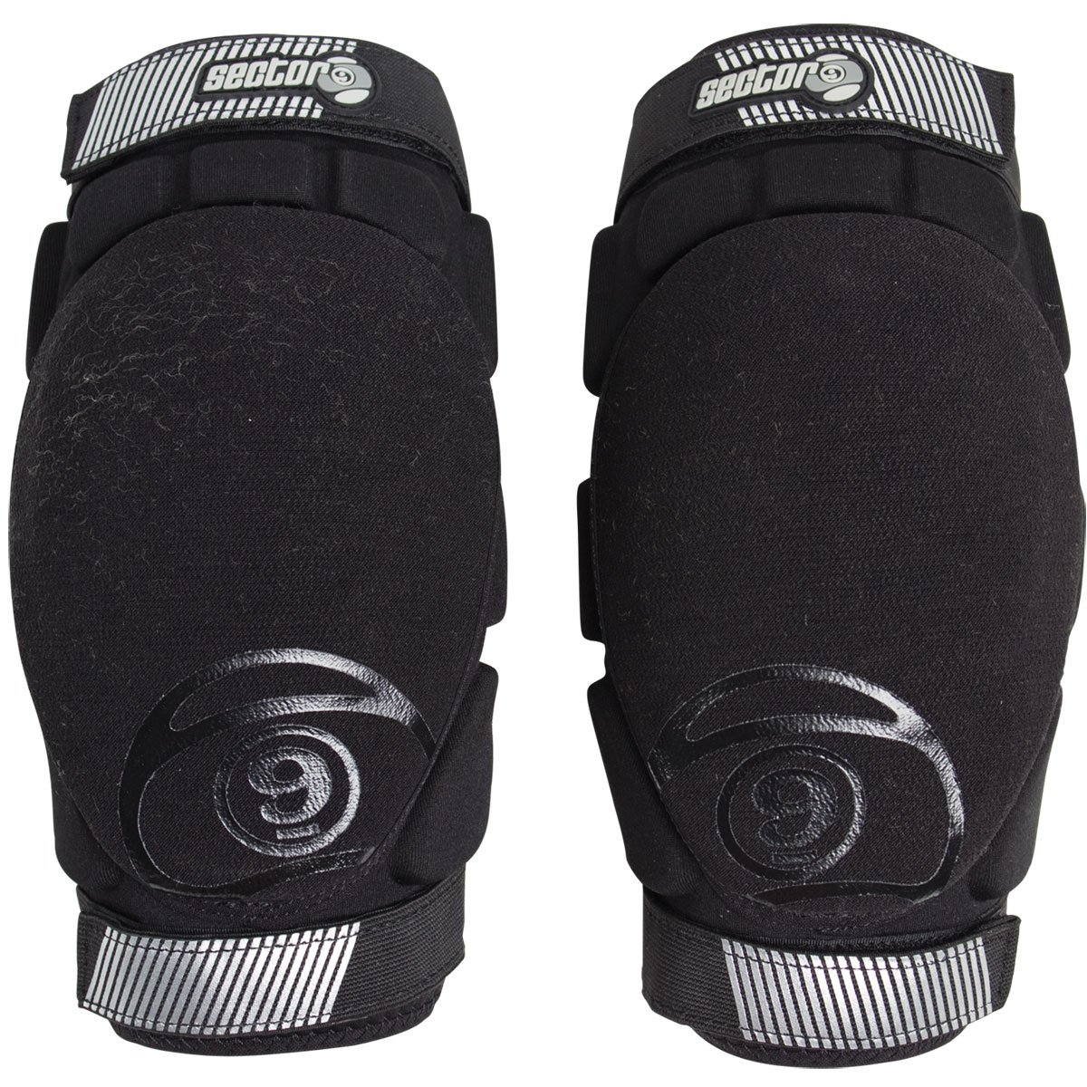 Sector 9 Precision Elbow Pad Protective Gear, Black, Large/X-Large