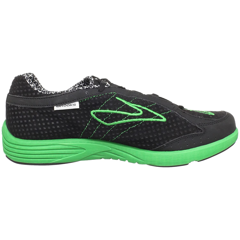 950b64f63c42e Brooks Men s M Green Silence Black Emerald Green Trainer 1100961D316 6.5  UK  Amazon.co.uk  Shoes   Bags