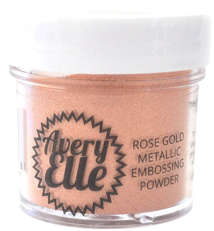 Avery Elle E1706 Metallic Fine Embossing Powder 1oz, Rose Gold