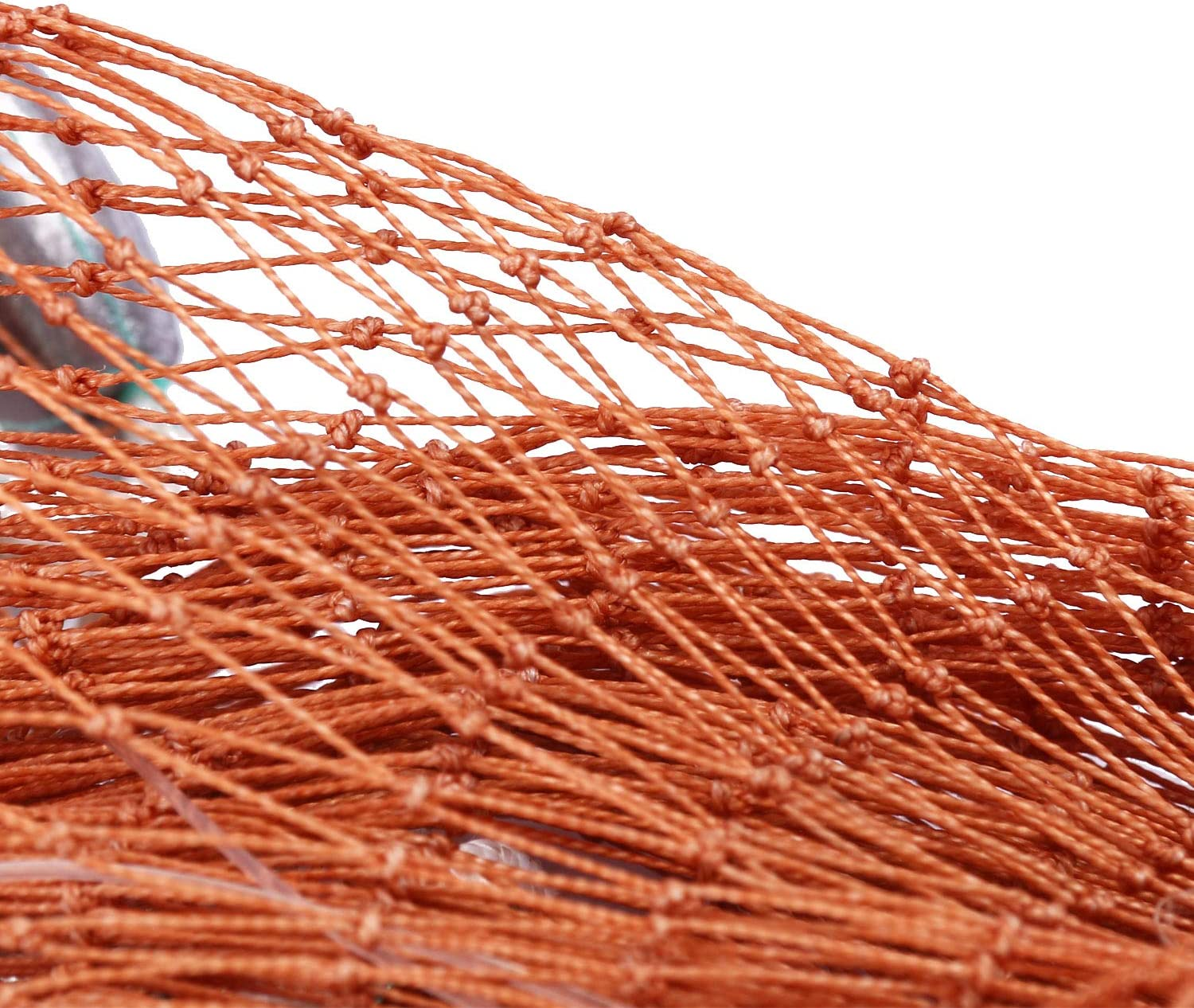 YaeMarine Freshwater Fishing Cast Net for Bait Trap Fish Saltwater Hand Throw Fishing Cast Net with Environmental Friendly Material Sinker