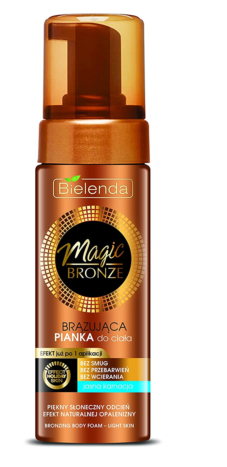 Bielenda MAGIC BRONZE Self Tanning Mousse for Light Skin 150ml – Easy to Use