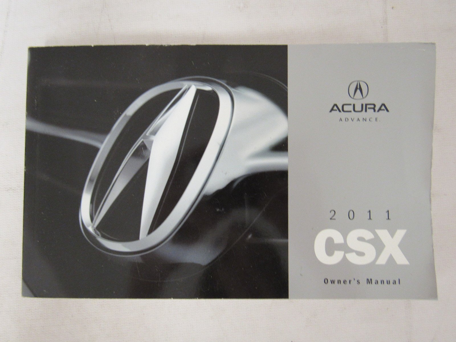 2011 acura csx owners manual guide book acura amazon com books rh amazon com 2011 Acura ILX 2011 acura csx service manual