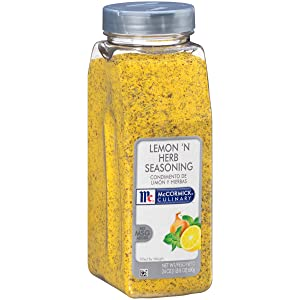 McCormick Culinary Lemon 'N Herb Seasoning, 24 oz, Pack of 2