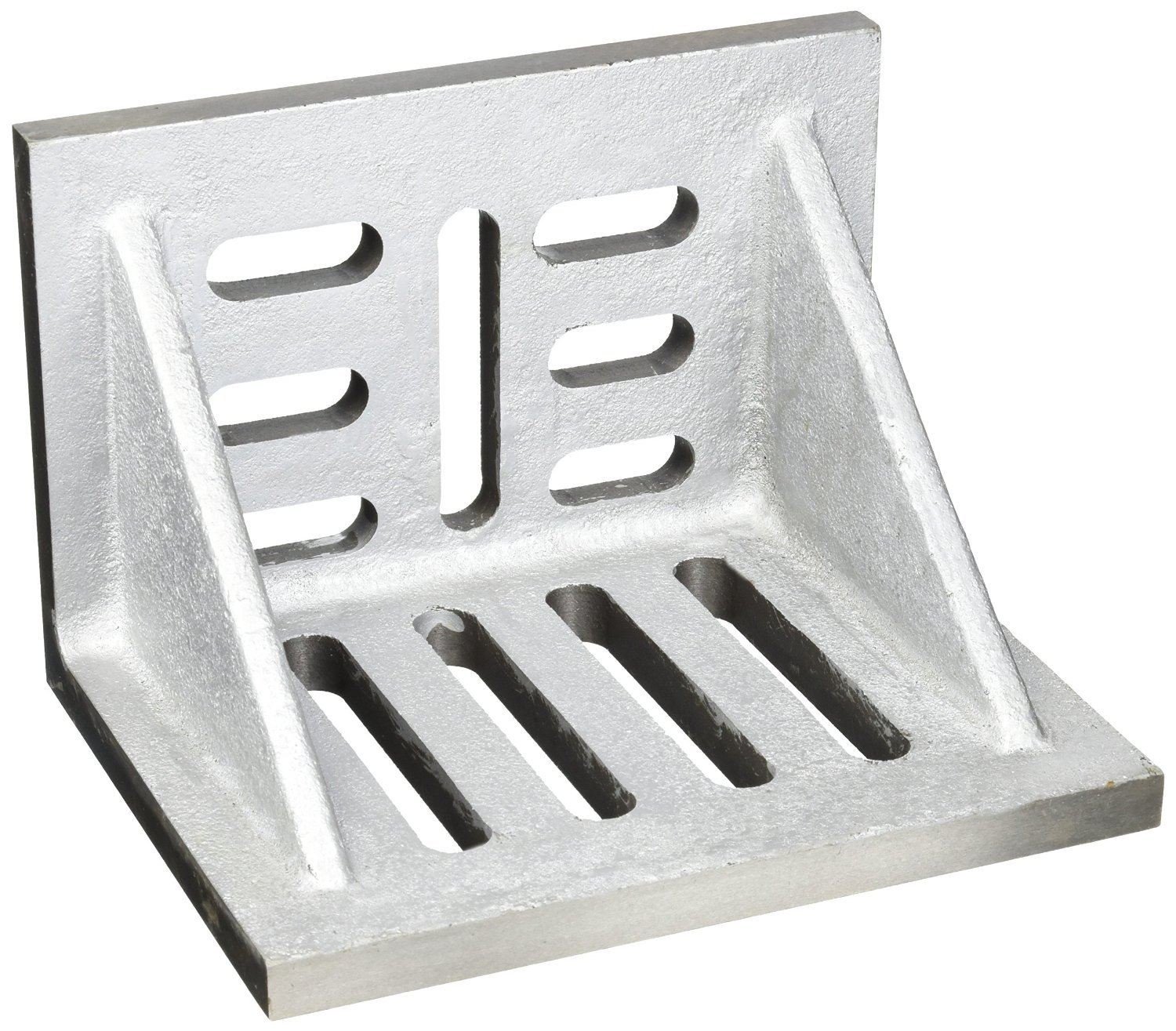 HHIP 3402-0310 10'' x 8'' x 6'' Slotted Angle Plate, Webbed