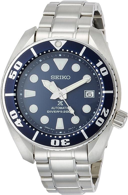 Amazon.com: SEIKO PROSPEX Men's Watch Diver Mechanical self-winding (with manual  winding) Waterproof 200m Hard Rex SBDC033: Watches