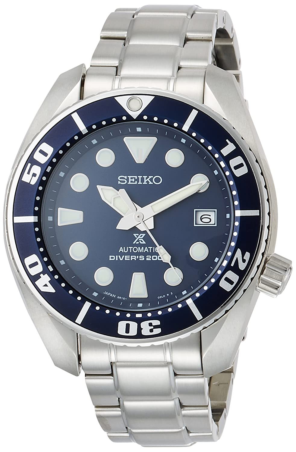 SEIKO PROSPEX Men's Watch Diver Mechanical self-winding (with manual winding) Waterproof 200m Hard Rex SBDC033