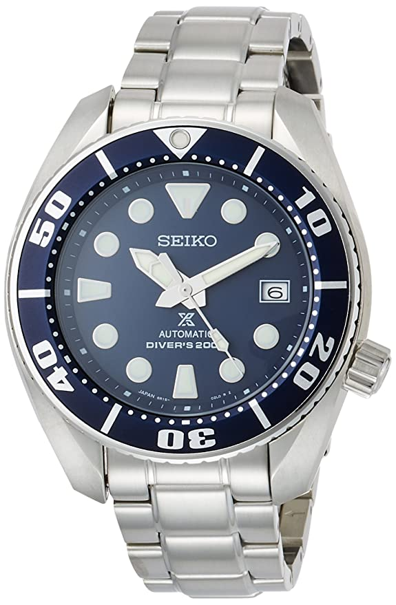 8. Seiko Prospex Men's Diver Watch (SBDC033)