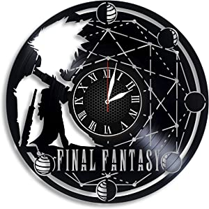 Lepri4ok Final Fantasy XV Wall Clock, Christmas Ornaments, Final Fantasy XIV, Christmas Decorations Personalized