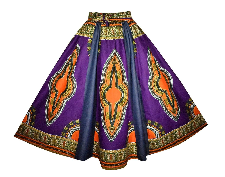 bluee Purple 174  Sweep 42  Long Decoraapparel Women's Denim Skirt Long Dashiki Maxi Skirt High Waist Skirt Plus Size bluee