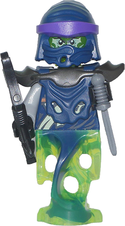 LEGO Ninjago : Minifigur Bow Master Soul Archer mit Bogen und Dolch aus dem Set 70734