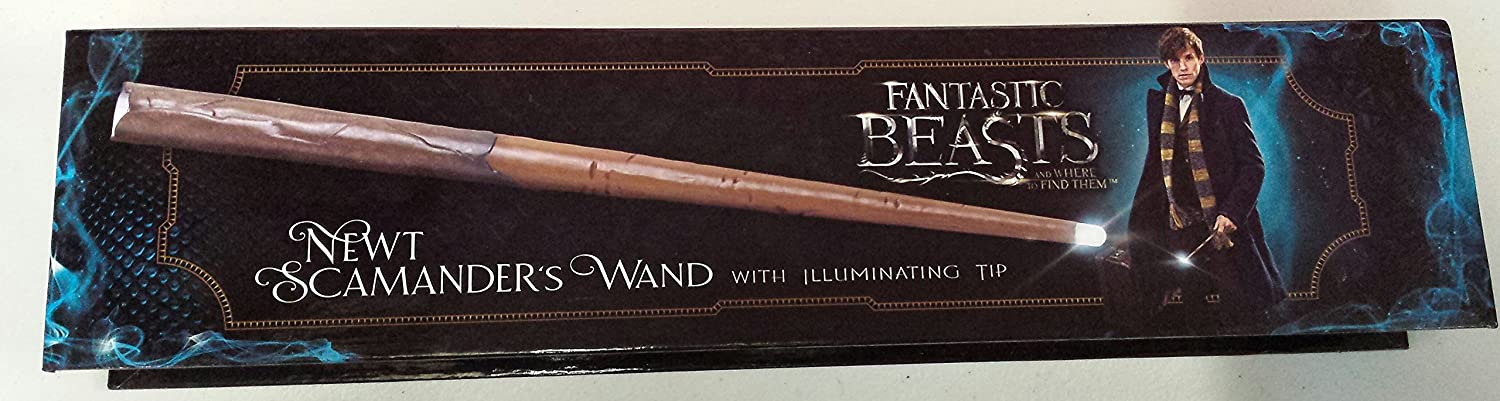 Newt Scamander's Wand with Illulminating Tip from Fantastic Beasts – Harry Potter
