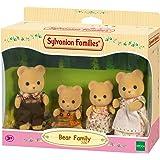 Sylvanian Families - 3150 - Famille Ours - Mini Poupée