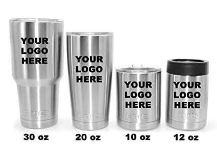 Amazon Com Personalized Custom Stainless Steel Tumbler Epic Laser