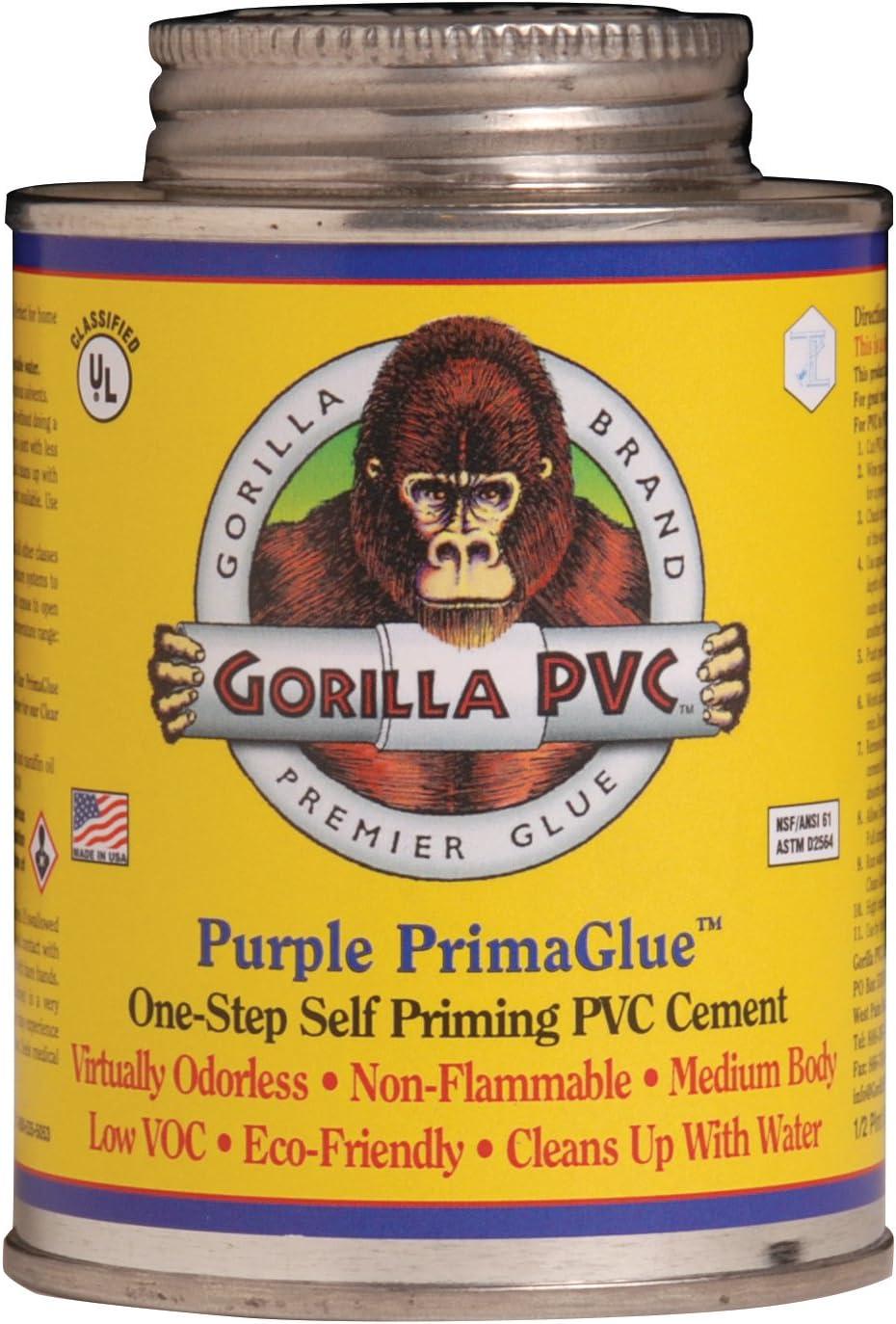 TRUE VALUE PP08204 8 OZ, Purple, PVC Glue