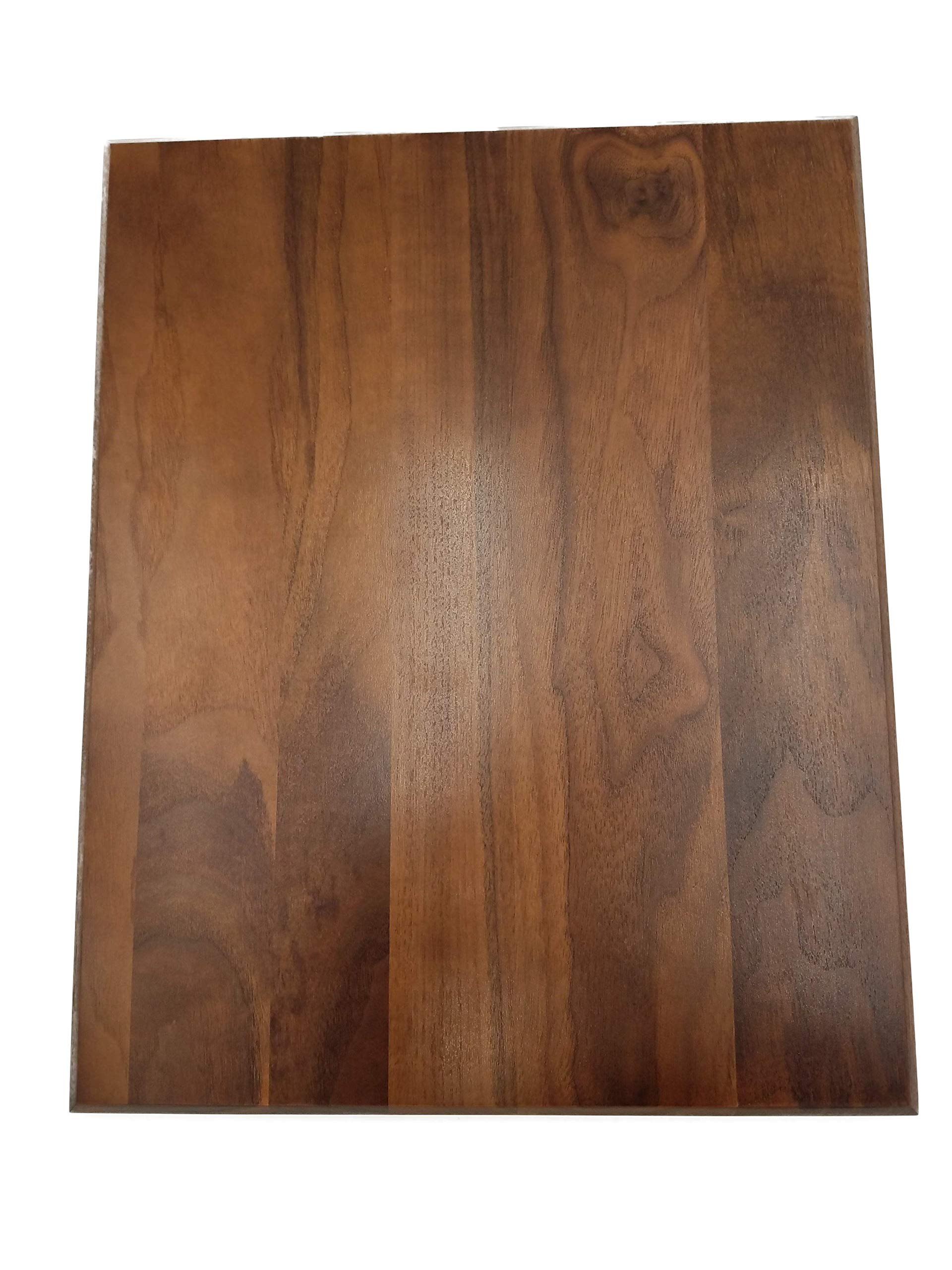 Solid Walnut 45° Bevel Plaque (16'' x 20'' x 3/4'' - 1 Pc) by Barrington Hardwoods