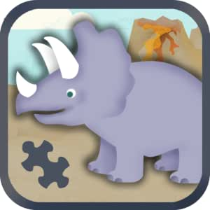 Dinosaur Games for Kids: Cute Dino Train Jigsaw Puzzles for Preschool and Toddlers HD - Free