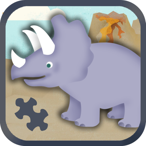 (Dinosaur Games for Kids: Cute Dino Train Jigsaw Puzzles for Preschool and Toddlers HD - Free)