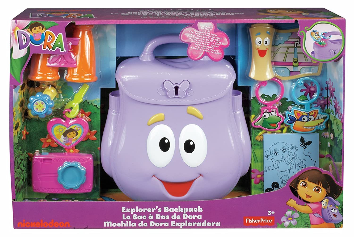 8559637f0e7 Dora the Explorer Explorer's Backpack: Amazon.in: Bags, Wallets & Luggage