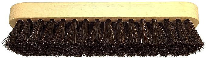 1 opinioni per DELARA Spazzola per lucidatura, grande, in legno, con manico sagomato; setole