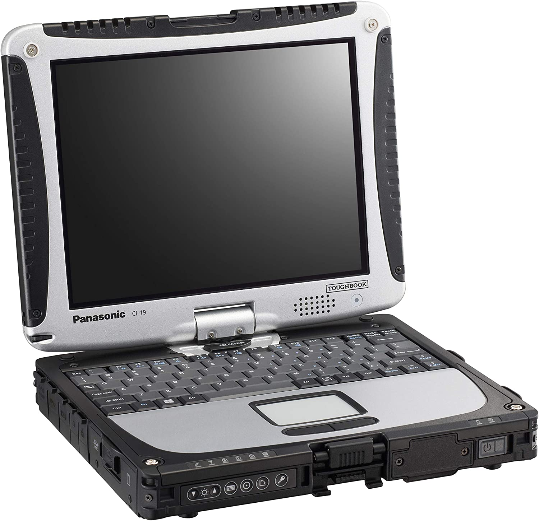 "Panasonic Toughbook CF-19 MK7, i5-3340M @2.70GHz, 10.1"" XGA Touchscreen, 8GB, 500GB, Windows 7 Pro, WiFi, Bluetooth (Renewed)"