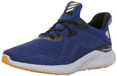 buy popular cda24 2c475 adidas Men s Alphabounce 1 m Running Shoe Mystery Ink Black Tactile Yellow  7 Medium