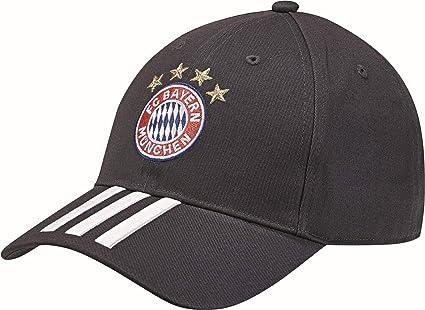 da65732e51baa Amazon.com   adidas 2018-2019 Bayern Munich 3S Cap (Blue)   Sports ...