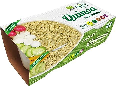 Golden Organic Quinoa Cocida Ecológica - Paquete de 12 x 250 ...