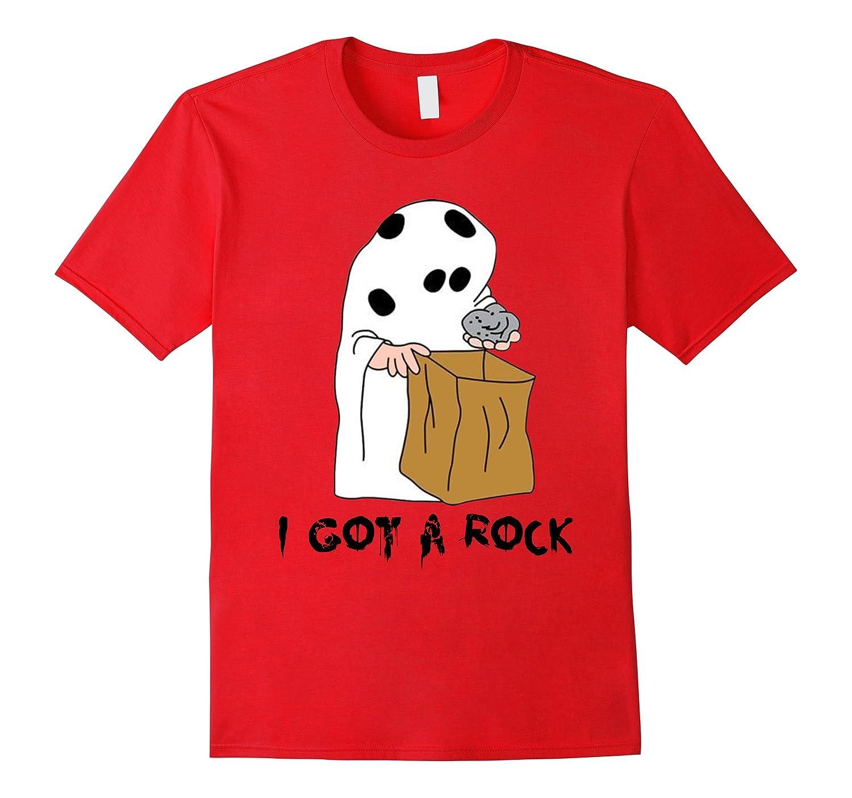I Got A Rock - Funny Ghost Halloween T-shirt-FL