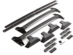 GM Accessories 19244268 Roof Rack in Ebony with Side Rails and Cross Rails