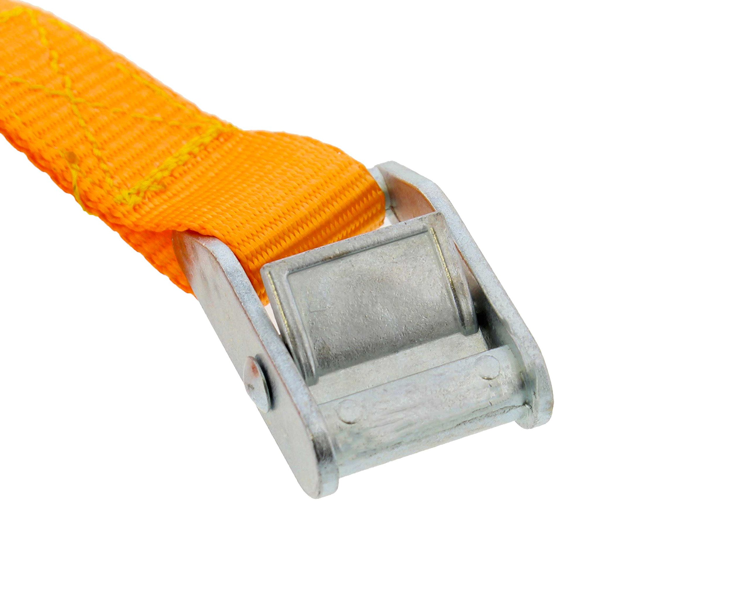ABN Lashing Straps with Carry Bag 1'' Inch x 12'' Foot 10-Pack by ABN (Image #3)