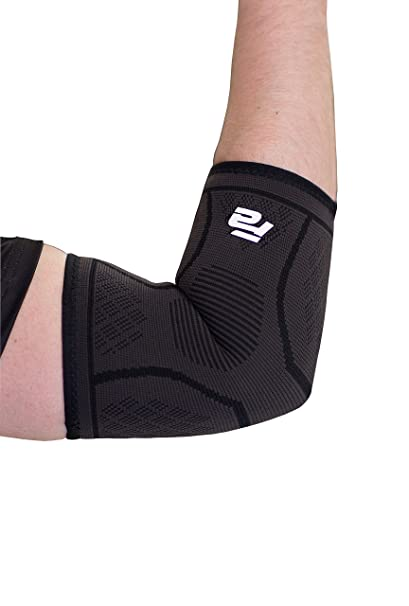 Amazon Com Fit Active Sports Compression Elbow Sleeve Support