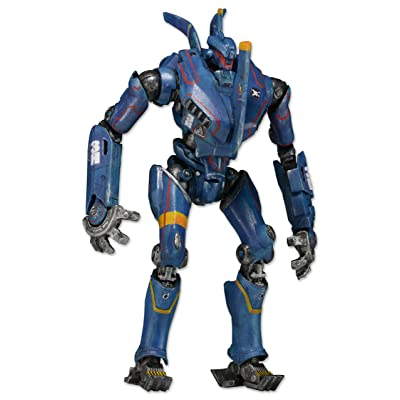 "NECA Pacific Rim Series 5 Romeo Blue 7"" Deluxe Action Figure: Toys & Games"
