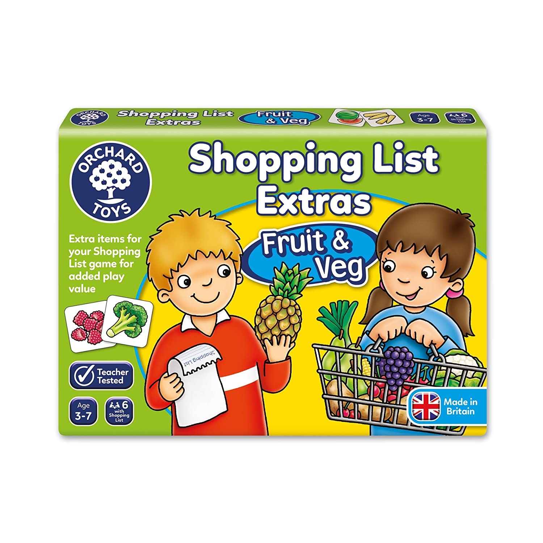 Shopping List Booster Pack - Fruit & Veg