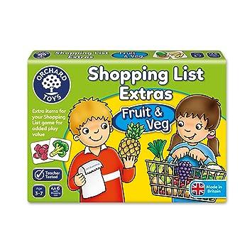 Orchard_Toys - Juego Adicional de Tarjetas ilustradas de Frutas y ...