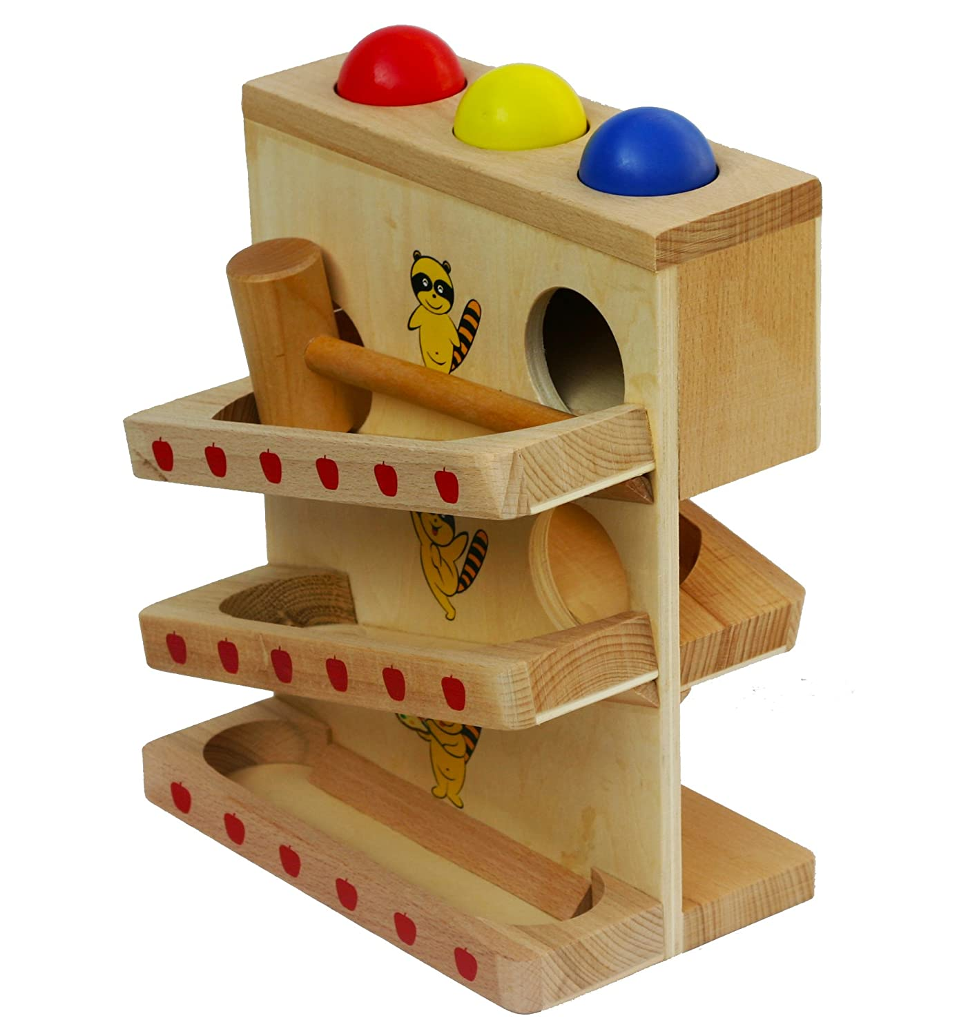 Toys of Wood Oxford Wooden Hammer and Balls PLEASE GET IN TOUCH