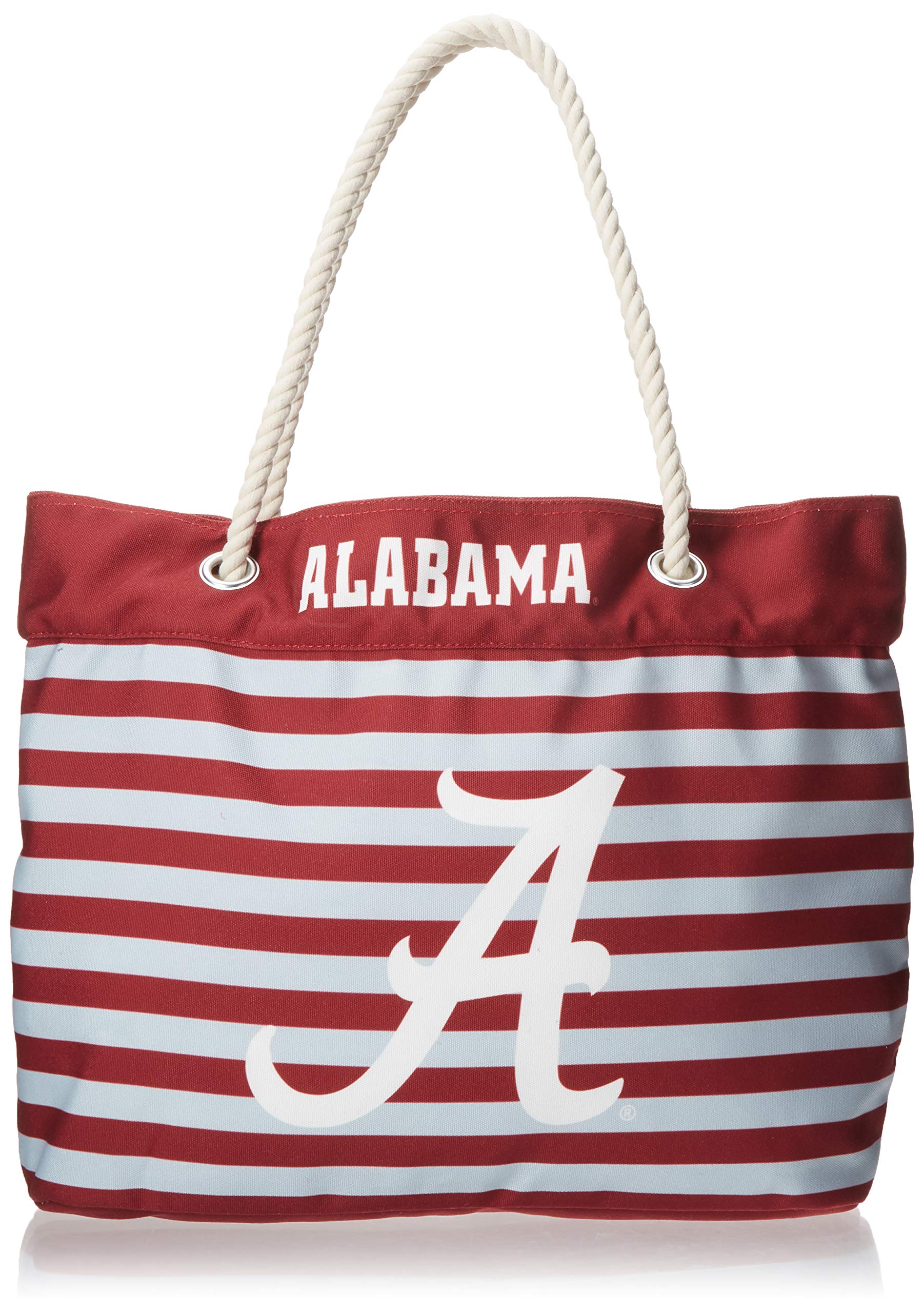 FOCO Alabama Nautical Stripe Tote Bag