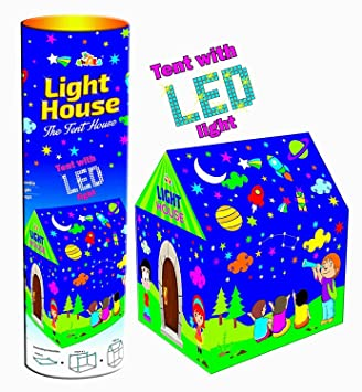 Magicwand Awals Kids Play Tent House with LED Lights  sc 1 st  Amazon India & Buy Magicwand Awals Kids Play Tent House with LED Lights Online at ...