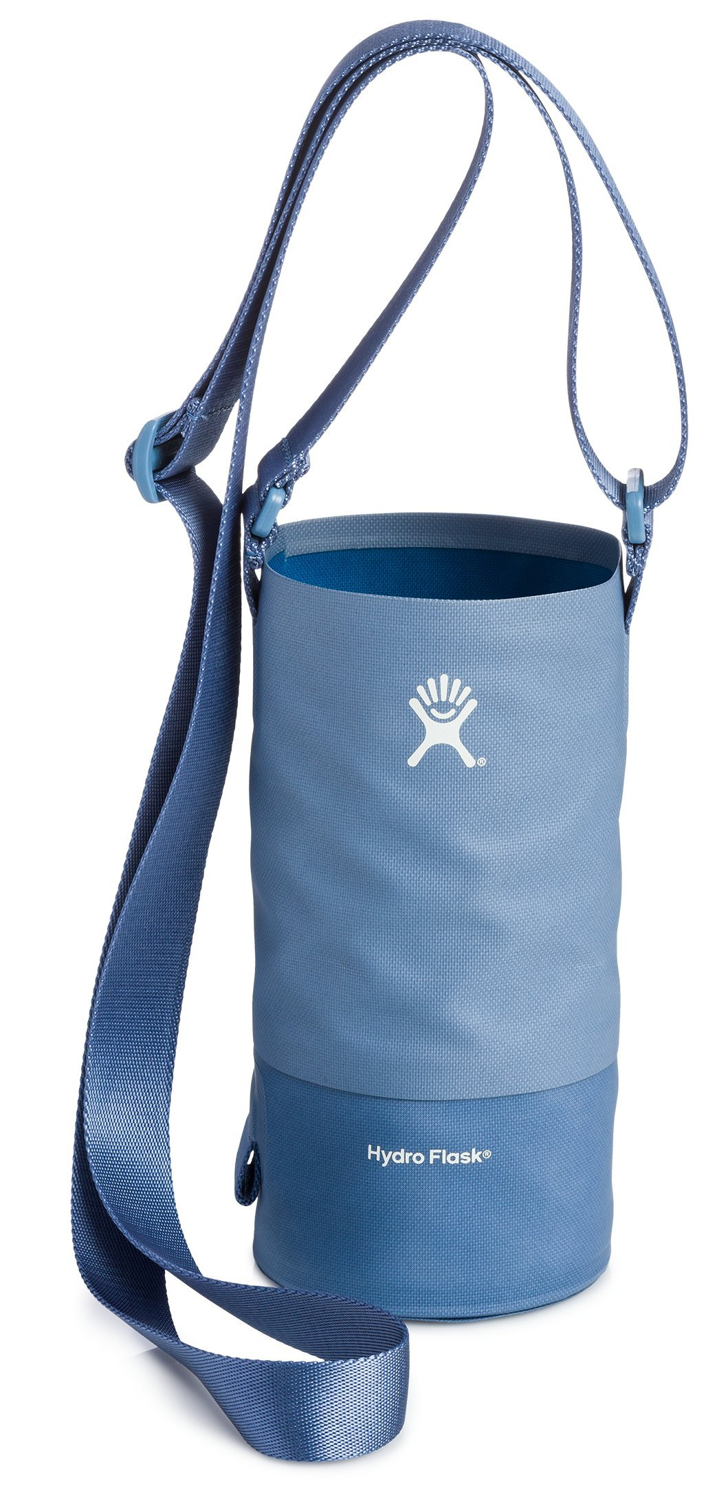 Hydro Flask Large Soft Sided Nylon Tag Along Water Bottle Sling with Pockets, Storm (Fits 32 oz and 40 oz Bottles)