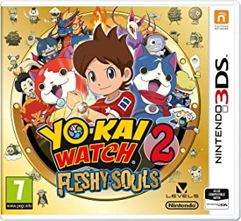 YO-KAI WATCH 2  Fleshy Souls (Nintendo 3DS)  Amazon.co.uk  PC ... 1408758e8d