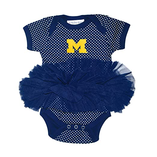 Amazoncom Two Feet Ahead Baby Girl University Michigan Tutu Skirt